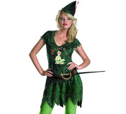 how to make a peter pan costume for adults