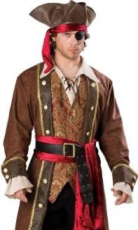 Captain Skullduggery Halloween Costume