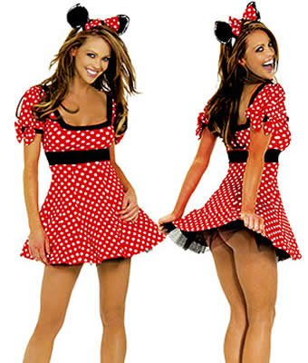 Sexy Minnie Mouse Halloween Costume