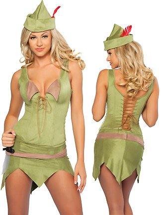 Sexy Peter Pan Halloween Costume