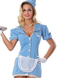 Sexy Waitress 1950s