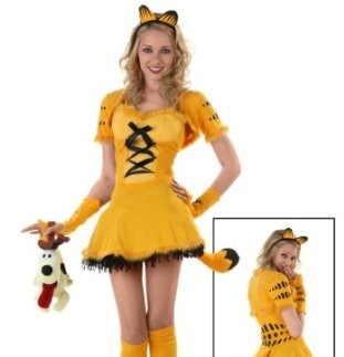 Womens Garfield Halloween Costume