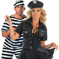 Cops And Robbers Couples Costumes