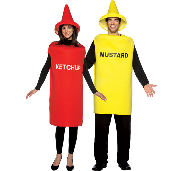 Couples Costumes Tasty Food