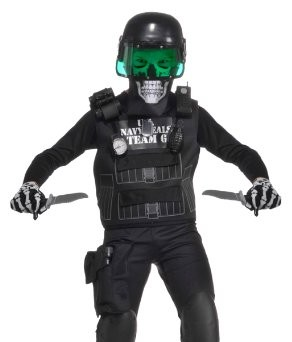 Kids Zombie Navy Seal Costumes