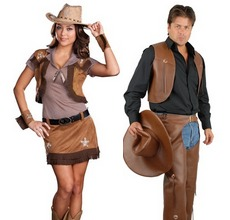 couples costumes cowboys cowgirls adults