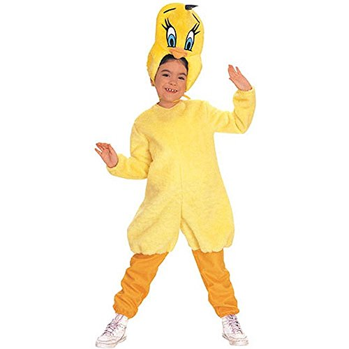Adults and Children Tweety Bird Halloween Costumes
