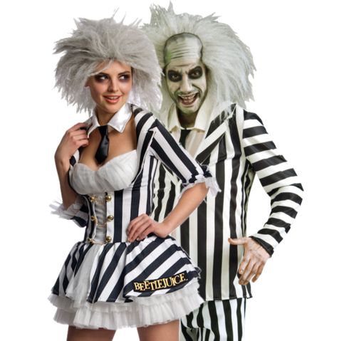 beetlejuice halloween costumes for men and women