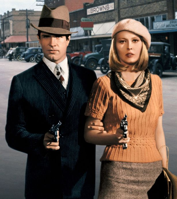 Ben noto Bonnie and Clyde Halloween Costumes for Couples IB59