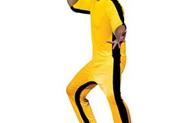 Bruce Lee Yellow Jumpsuit Halloween Costumes