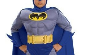 Childs Deluxe Batman Halloween Costumes