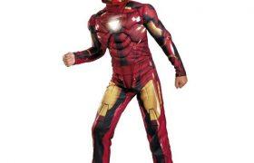 Childs Deluxe Iron Man Halloween Costumes