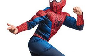 Childs Deluxe Spiderman Halloween Costumes