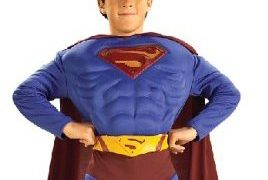 Childs Deluxe Superman Halloween Costumes