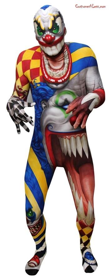 Creepy Clown Morphsuit