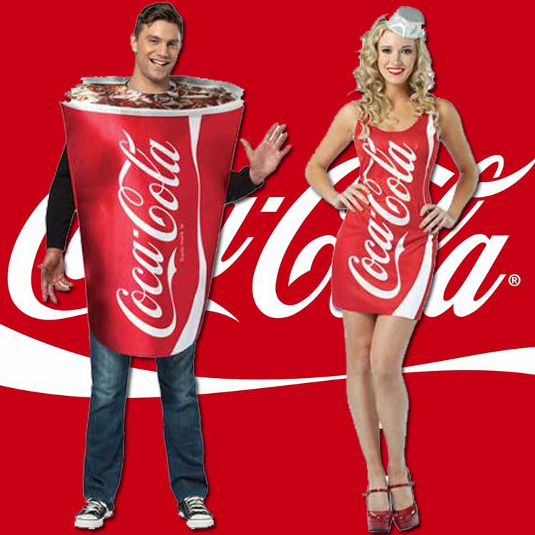 Coca Cola Halloween Costumes