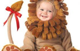 Cuddly Lion Infant Halloween Costume