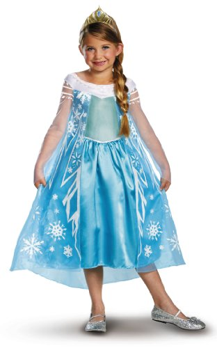 Disney Frozen Halloween Costumes for Girls