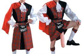Funny Adult Kilt Halloween Costumes