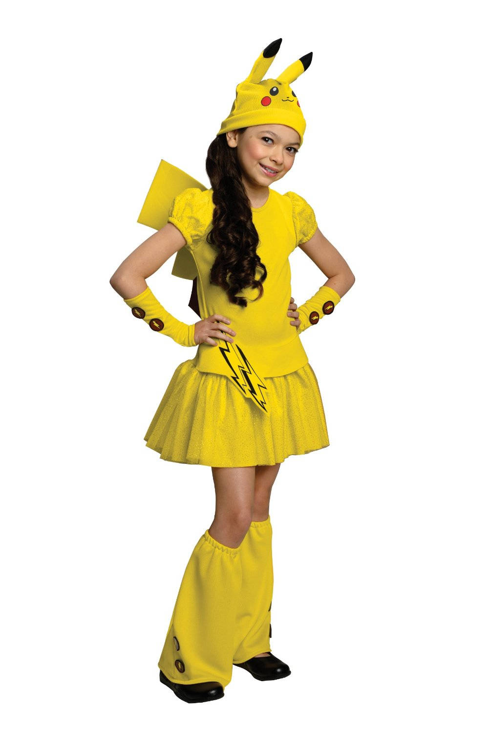 Girls Pikachu Costume