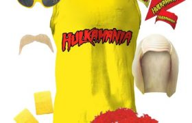 Hulkamania Hulk Hogan Halloween Costumes