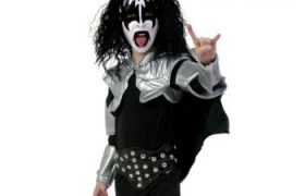 KISS Gene Simmons Destroyer Halloween Costume