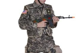 Kids Army Soldier Halloween Costumes