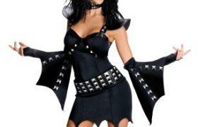 Ladies KISS Demon Halloween Costumes