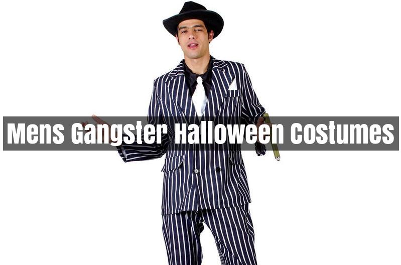 Mens Gangster Halloween Costumes