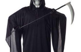 Mens Grim Reaper Halloween Costumes