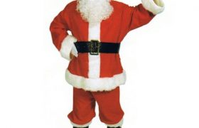 Men's Santa Claus Suit Uniform