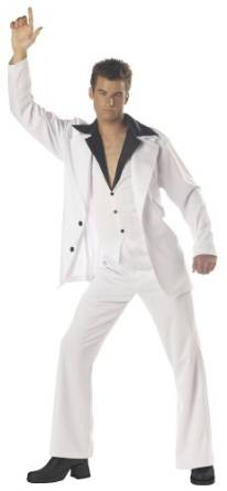 Men's Saturday Night Fever Halloween Costume