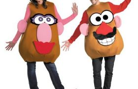 Mr and Mrs Potato Head Couples Halloween Costumes