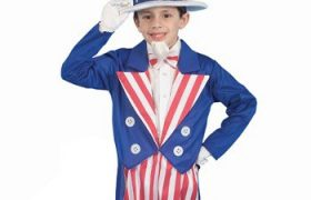 Patriotic Uncle Sam Halloween Costumes