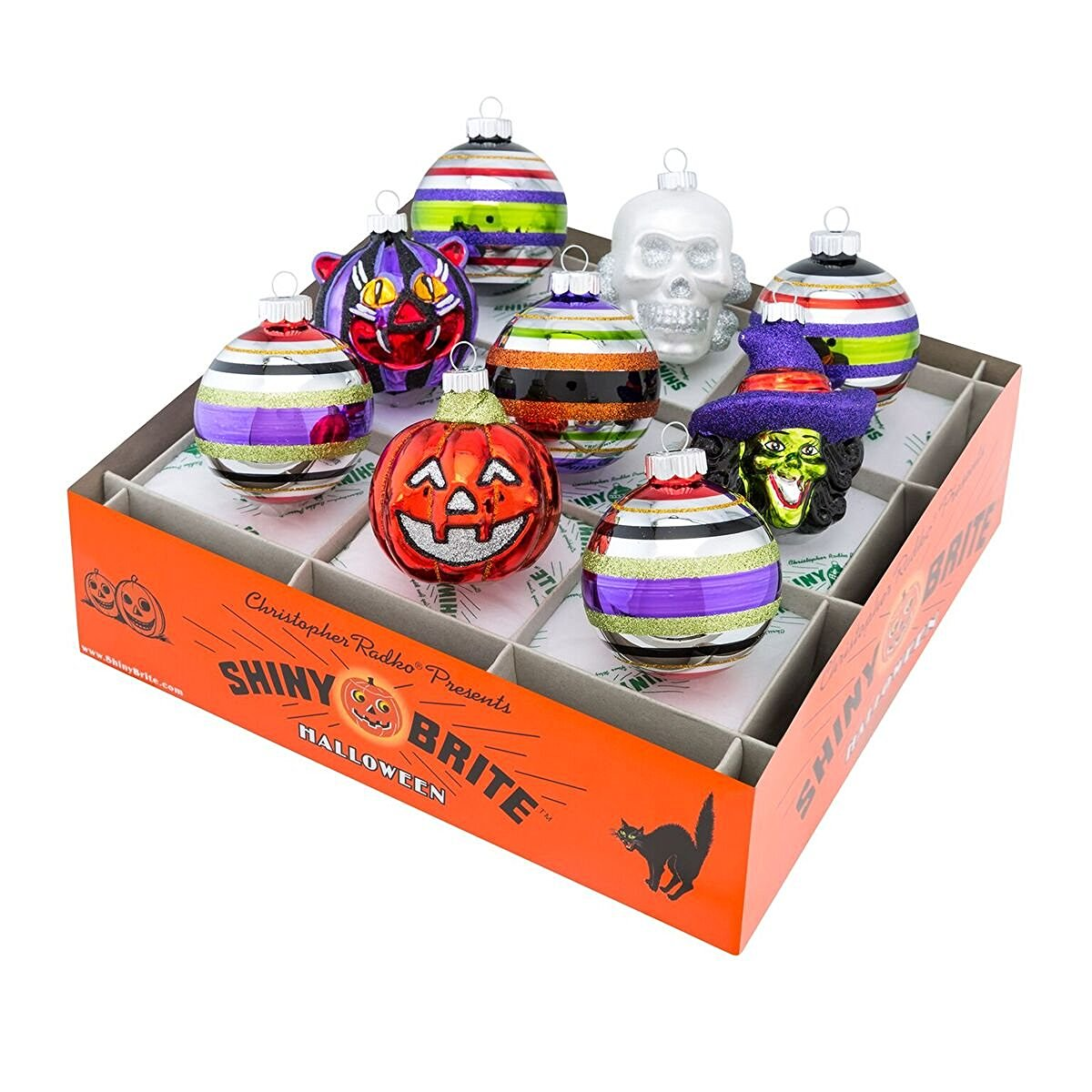 Radko Shiny Brite Halloween Ornaments
