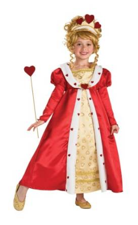 Red Heart Princess Halloween Costume