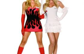 Reversible Angel Devil Halloween Costume