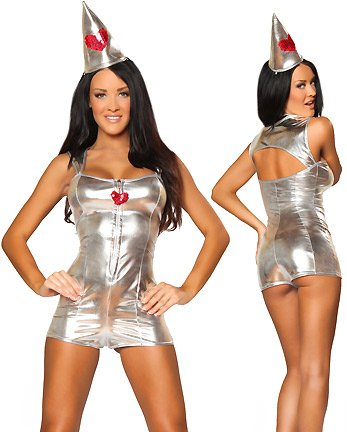 Sexy Tin Man Halloween Costume