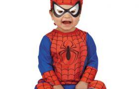Spiderman Halloween Costumes for Infants