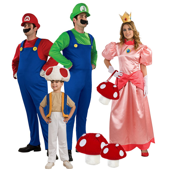 sc 1 st  Best Costumes for Halloween & Super Mario Brothers Halloween Costumes