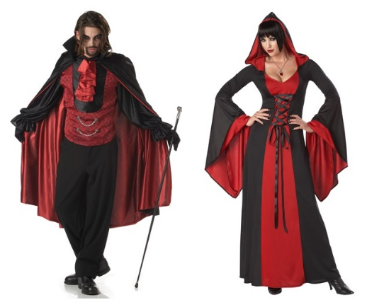 Vampire Halloween Couples Costumes