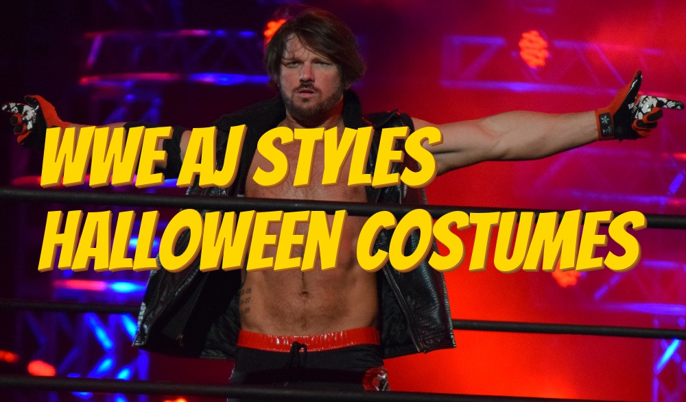 wwe aj styles halloween costumes best costumes for halloween