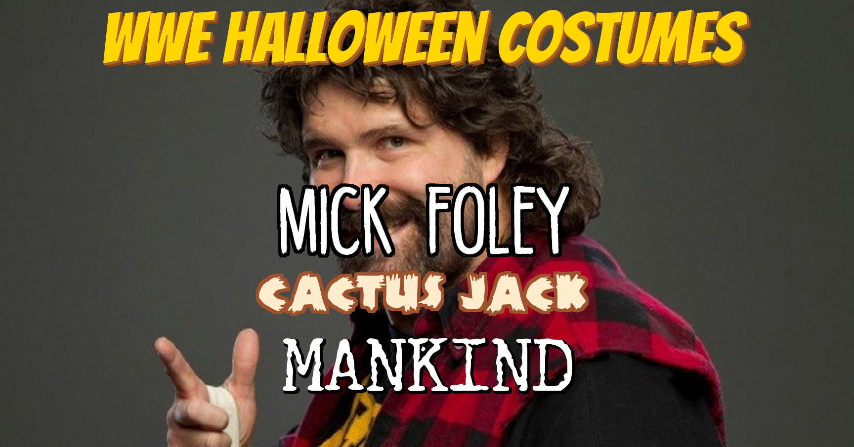 WWE Mick Foley Halloween Costumes