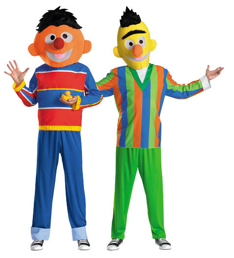 sc 1 st  Best Costumes for Halloween & Bert and Ernie Halloween Costumes - Best Costumes for Halloween