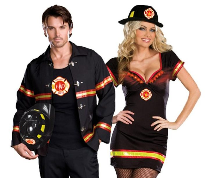 Firefighter Couples Halloween Costumes