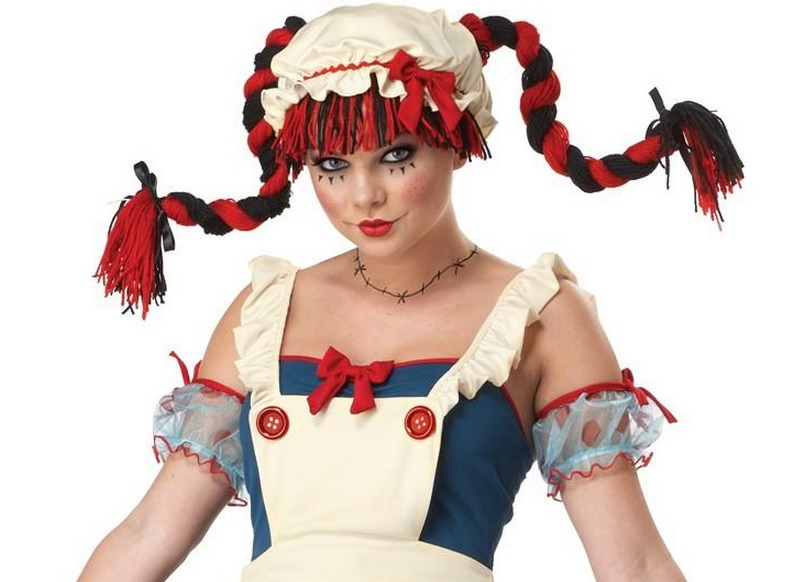 sexy adult raggedy ann costume