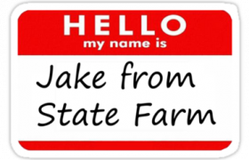It's Jake From State Farm Halloween Costumes